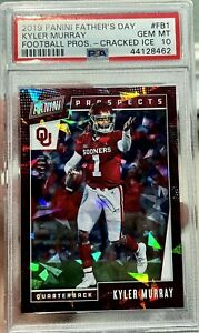 2019 PANINI FATHER'S DAY KYLER MURRAY CRACKED ICE PSA 10 RC 04/25