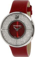 Swarovski Women's 1144170 Crystalline Crystal Red Leather Watch