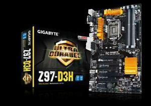 Gigabyte Ultra Durable Z97-D3H Motherboard