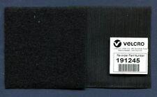 "12""X4"" BLACK VELCRO Brand USAF NAVY USMC ARMY Squadron Flight Suit Jacket Patch"