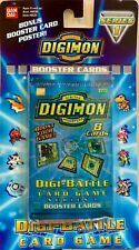 DIGIMON 2000 BOOSTER/BLISTER PACK Series 1 Edition Cards by Bandai FREE SHIPPING