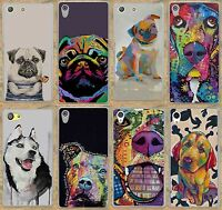 Cute Pitbull Dogs Pop Art Design Hard Case Cover Coque For Samsung iPhone Huawei