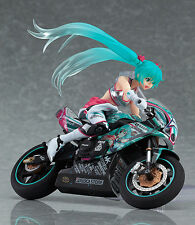 Figma 233 Vocaloid Racing Miku 2013 EV MIRAI & ex:ride Spride.06 TT-Zero 13 Set