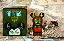 "Disney Vinylmation 3""  Villains 4 Horned King Chaser Black Cauldron Box and Foil"