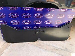 HALF DOORS 1997-2006 Jeep Wrangler TJ Lower 1/2 HARD Door Pair Kevlar Black