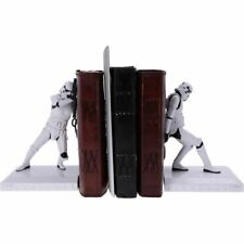 More details for stormtrooper bookends 18.5cm - officially licensed star wars merchandise - new