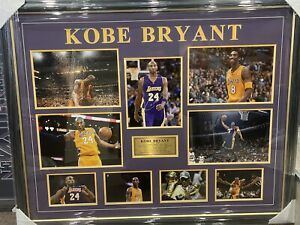 Signed Kobe Bryant Frame with a Certificate of Authenticity - Magnificent Item