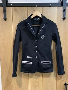 Spooks Black Showjacket Size S (Small )Good Condition approx Size 8