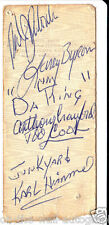 NEIL YOUNG THE SHOCKING PINKS HAND SIGNED AUTOGRAPHED 1983 TICKET STUB! RARE!