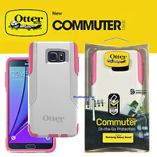 OtterBox Commuter Series Case for Samsung Galaxy Note 5 Pink White