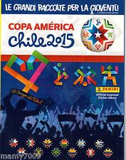 ALBUM FIGURINE=COPA AMERICA CHILE 2015=PANINI MODENA=VUOTO=COPIA OMAGGIO