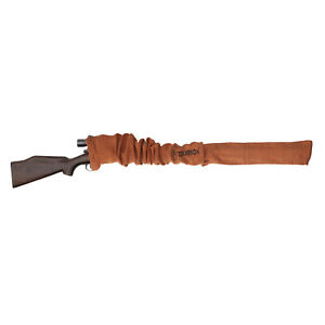 "Tourbon Gun Protect Sleeves Rifle/Shotgun Sock Cover Silicone Treated 53"" Orange"
