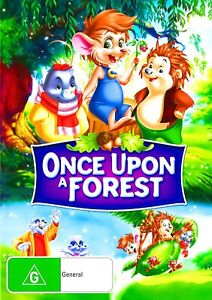 190A NEW SEALED Region 4 DVD ONCE UPON A FOREST
