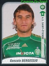 436 GONZALO BERGESSIO ARGENTINA AS.SAINT-ETIENNE STICKER FOOT 2009-2010 PANINI