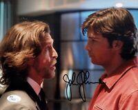 JOHN GLOVER Signed SMALLVILLE Lionel Luthor 8x10 Photo Autograph JSA COA
