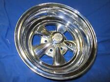 "15""x7"" Cragar S/S Wheel NOS 4 1/2"" Bolt Circle Mopar AMC Ford 1970 Rim"