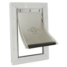X-Large Freedom Aluminum Pet Door Dog Frame 13-3/4 x 23-3/4 in. Easy Install New