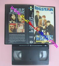 VHS THE BEATLES At the shea stadium BIGSTAR 1 EDEN 50 minuti no cd lp dvd (VM10)