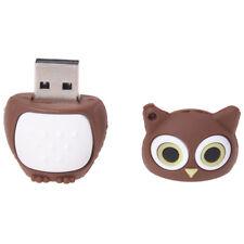 8GB Owl Shape USB 2.0 Memory Stick - Brown PK E9M1 I5D1