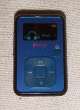 SanDisk Sansa Clip+ Blue (4GB) Digital Media MP3 Player. Works perfect