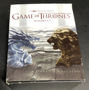 Game of Thrones: The Complete Seasons 1-7 (Blu-ray Disc, 2017, No Digital Copy.