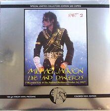 MICHAEL JACKSON LP VINYL - live and dangerous part.2 -  LIMITED EDITION