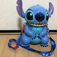 Disney Popcorn bucket Tokyo Disneyland Stitch Popcorn Bucket Good from japan