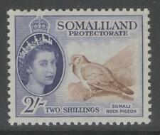 SOMALILAND SG146 1953 2/= BROWN & BLUISH-VIOLET MTD MINT