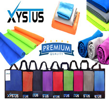 XYSTUS MICROFIBRE TOWEL / GYM TOWEL / PATTERN TOWEL / CLEANING CLOTH /   ZIP BAG