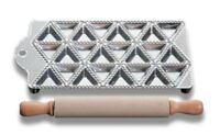 RAVIOLAMP raviolatore in alluminio 24 posti triangolari mm 48