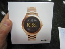 Fossil Gen 3 Smartwatch Q Venture Rose Gold-Tone Stainless Steel FTW6000
