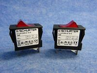 Lot of 2 TA45 Circuit Breaker SCHURTER 240 VAC 60V Swiss Made