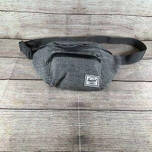 Herschel Supply Co Seventeen Hip Pack Grey Black Fanny Pack Crossbody Waist Bag