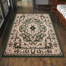 Teppich Orient Perser Orientalisch in Grün - Läufer XXL 200x300 300x400 mehr