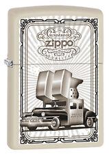 Zippo en TU MECHERO ZIPPO car White maletero Zippo logotipo ornamentos nuevo embalaje original