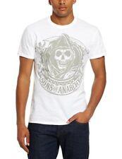 Plastic Head T-shirt Imprimé musique et film Homme Blanc Blanc FR : Medium