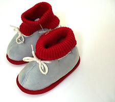 öko lammfell Kinder Hausschuhe 16 - 17 fell Kindergarten Schuhe Boots Leder Baby