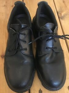 Amblers Goliath Safety Work Shoes Black Real Leather 46 UK 11 Lace Up RRP £80