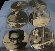 BUDDY HOLLY - MASTERS OF ROCK AND ROLL - 6 PICTURE DISC FLEXI 45's (M)