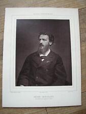 Henri HOUSSAYE cliché photoglyptie de CARJAT Galería Contemporáneo 1880