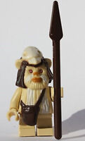 LEGO® Star Wars™ Minifigures Ewok Logray Minifig Endor From Set 7956