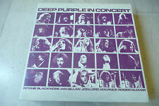 "DEEP PURPLE""IN CONCERT-disco 33 giri doppio HARVEST Italy 1980"""