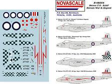 RAAF Meteor F.8 Decals 1/48 Scale N48054