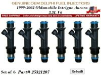 6x Fuel Injectors NEW GENERATION UPGRADE for Dodge Intrepid 2.7L V6 OEM Siemens