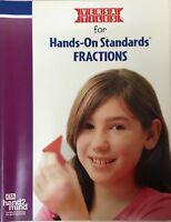 ETA Hand2Mind Versa Tiles Grade Level 5 Hands On Standards Fractions Book