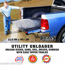 Ute Unloader Tipper - Remove Rubbish Dirt Rocks Sand from Trailers+Utes