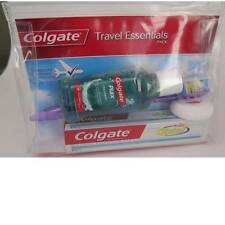 Colgate Oral Travel Kit Toothbrush, Dental Floss, Mouthwash, Toothpaste w/case