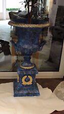 Große Vase Amphore Säule Dekovase Pokal Groß Exklusiv Möbel Bodenvase Design 120