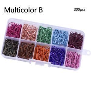 100/300pcs Pins DIY Knitting Crochet Stitch Marker Tags Pins Metal Needle Clips