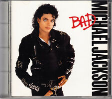 Michael Jackson Bad 1987 Japan CD 2nd Press With Sticker 30.8P-240 OOP HTF Rare